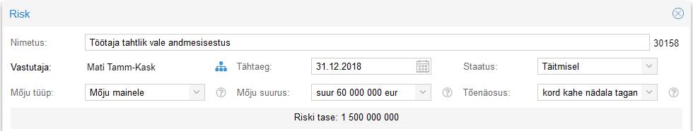 riskijuhtimine